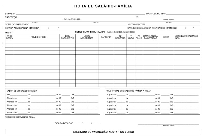 Modelos cartas e formulários